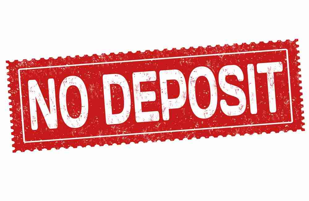 No deposit grunge rubber stamp